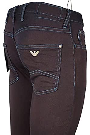 640f25bfaf5d Image Unavailable. Image not available for. Colour  Emporio Armani Jeans  Stretch Cotton ...