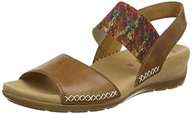 gabor shoes damen fashion offene sandalen schuhe handtaschen. Black Bedroom Furniture Sets. Home Design Ideas