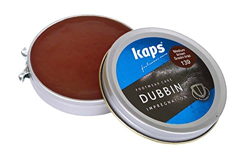 quality-shoe-dubbin-wax-nourishment-and-waterproofing-for-leather-kaps-dubbin-middle-brown-50ml