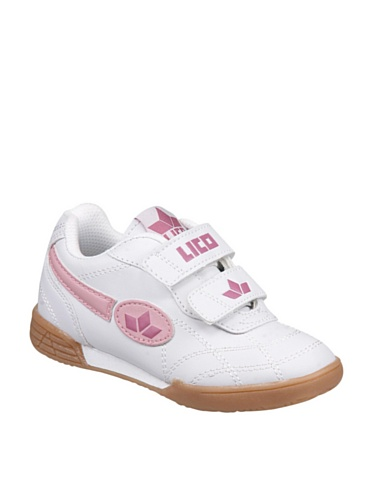 Lico 360217 chaussures de sport, chaussures bERNIE v blanc/rose/rose - weiss/rosa/pink