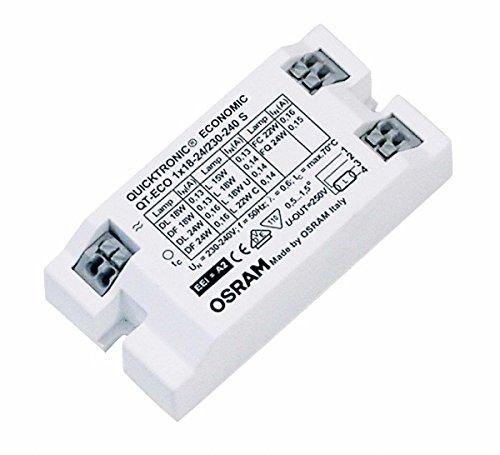 Osram Vorschaltgerät QT-ECO 1x 18, 21 Watt Lampe 230-240 Volt S-Bauform