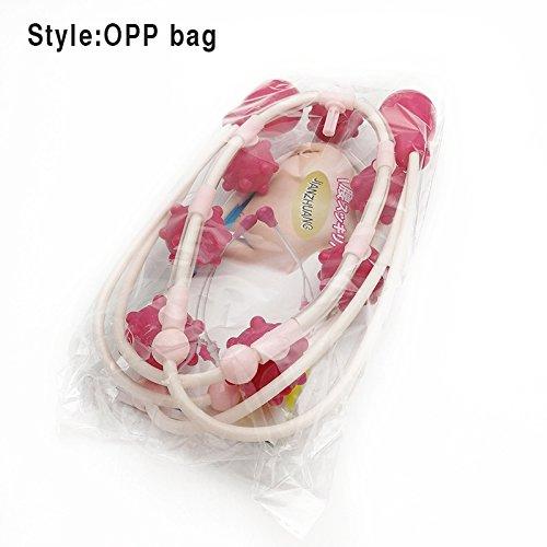 symboat Massagerolle der Deep Tissue Spiky Ball Trigger Point TH ¨ ¦ rapie Yoga Übungen Release (Release Ball Seil)