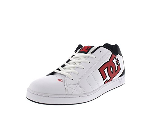 DC Net White Athletic Red Armor