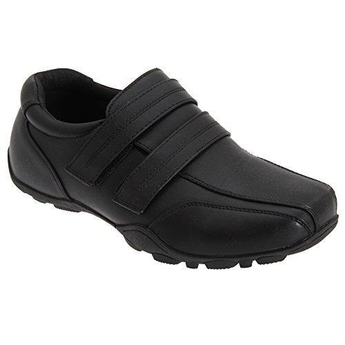 Route 21 - Chaussures scratch - Garçon Noir
