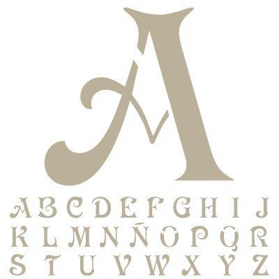 Pochoir Alphabet Mini Deco 010Pochoir Princesse. Taille: 12x 12x 12cm (119,4x 119,4cm). Dimensions: 5x cm (2x dans)