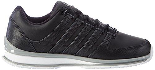K-Swiss Rinzler Sp Herren Sneakers Weiß(BLACK/DARK SHADOW/QUARRY)