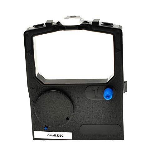 ASC-Marken-Farbband für OKI 09002309 schwarz kompatibel - Schwarz-marken Farbband