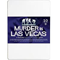Murder in Las Vegas 10-Player Murder Mystery Dinner Party Game