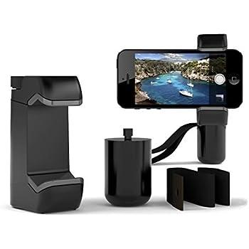 Poignée/Stabilisateur Smartphone Universel, Stabilisateur Téléphone Manul pour Vlog, Vidéo