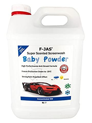 F-JAS Super Scented Screenwash (5L Concentrated, Juicy