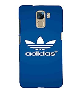 Pattern, Blue, Lovely pattern, Magnificent Pattern, Printed Designer Back Case Cover for Huawei Honor 7 :: Huawei Honor 7 (Enhanced Edition) :: Huawei Honor 7 Dual SIM