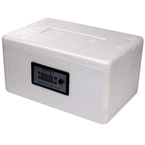 ZRZJBX Incubatrice Semi-Automatica/Incubatrice Semi-Automatica per Pollame/Incubatrice Digitale per Uova Incubatore Semiautomatico Automatico di Temperatura,Small