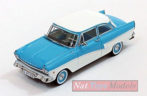 PremiumX PRD388 Ford Taunus 17M 1957 Light Blue/White 1:43 MODELLINO Die CAST | Se Vendant Bien Partout Dans Le Monde