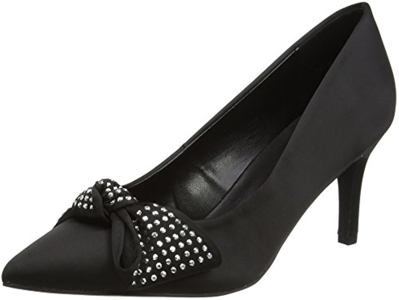 New Look Wide Foot Studdly - Zapatos de Tacón con Punta Cerrada Mujer -