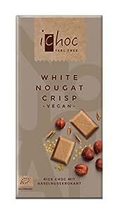 Vivani White Nougat Crisp-Rice Choc, 5er Pack (5 x 80 g)
