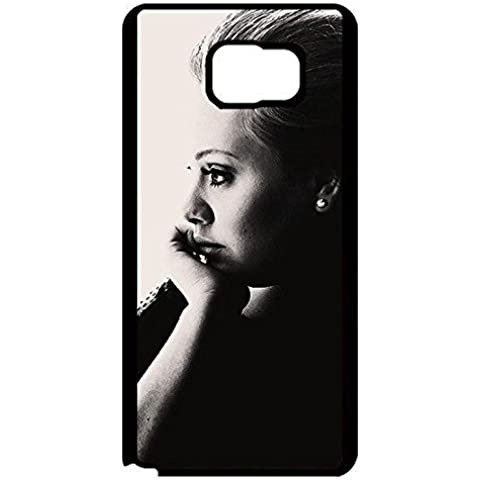 Adele Adkins Attractive Poster Phone Case Black White Vintage Design Cover for Samsung Galaxy Note 5