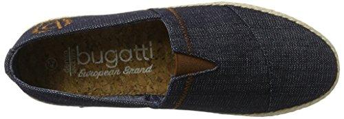 Bugatti F86656, Espadrilles Homme Bleu (Jeans 455)