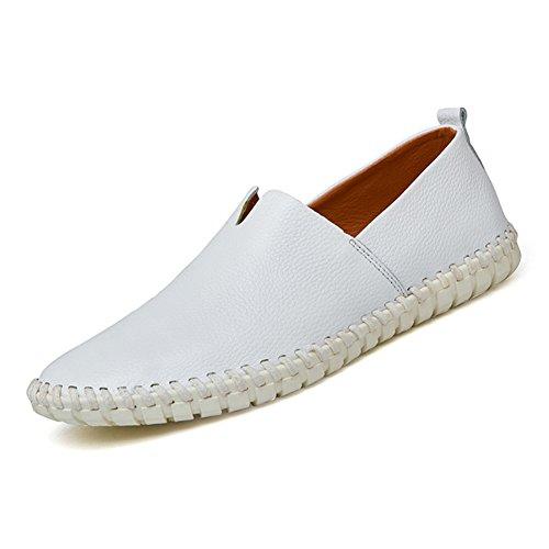 URBANFIND  Walking Shoes,  Herren Durchgängies Plateau Sandalen Weiß