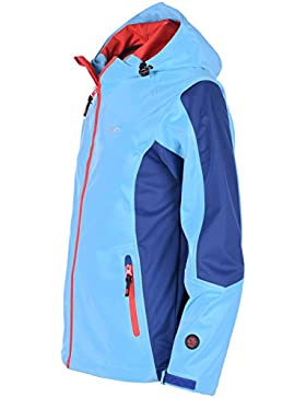 bejo Niños Palmer Jr Junior Softshell, infantil, PALMER JR, Limoges/Aquarius/Fiery Red, 146