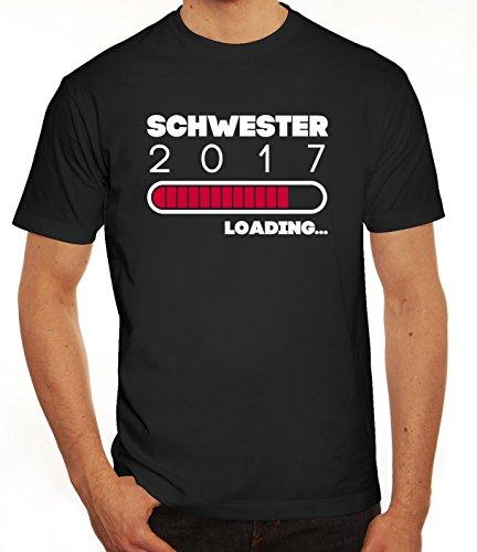 Geschenkidee Herren T-Shirt mit Schwester 2017 Loading... Motiv von ShirtStreet Schwarz