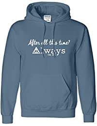 Harry Potter Herren Kinder-Kapuzen Alan Rickman Top Sweat Hoodie