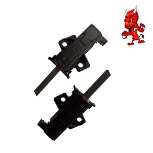 Preisvergleich Produktbild Kohlebürsten Motorkohlen Kohlestifte passend für Bauknecht WA PLUS 744 A+++, WA STAR 56 EX