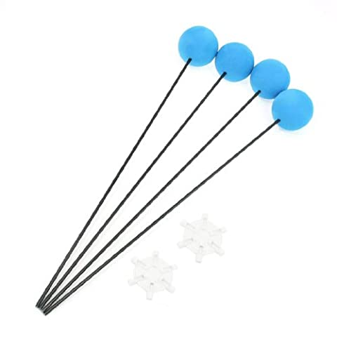 Blue Training Stand Kit Gear Sponge Ball for Trex Align 400 450 RC Helicopter