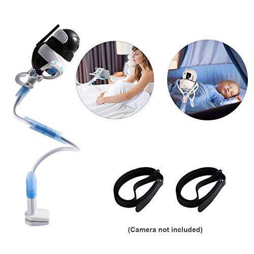 Baby Kamera Halterung Universal Baby Monitor Halter Infant Video Monitor Regal Flexible Kamera Ständer Babyphone Halterung Kompatibel mit den meisten Babyphones für Ihr Baby by Upstartech