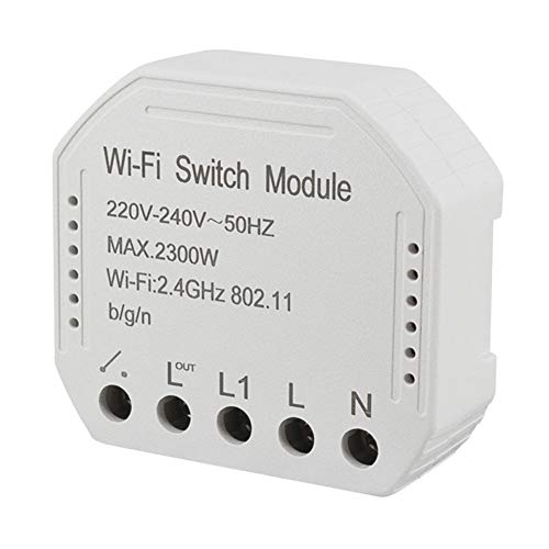Fayeille DIY Smart WiFi Fernbedienung, Electric Light Transform Praktische Fernbedienung Home WiFi Smart Switch-Modul -
