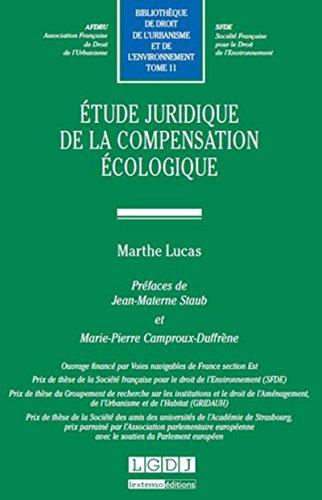 Etude juridique pour la compensation écologique -