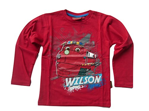Image of Chuggington Boys' Long-Sleeved Top Red Red