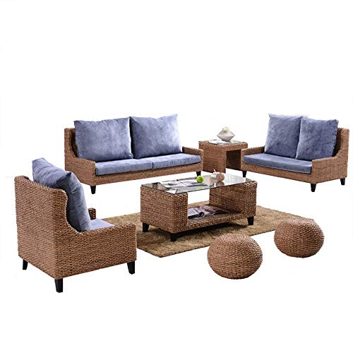 Heartfulness Rattan Gartenmöbel Set Patio Wintergarten Indoor Outdoor Set Tisch Stuhl Sofa -