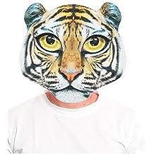 24df87e5cc8 Máscara Tigre Print 2D - Animales Carnaval