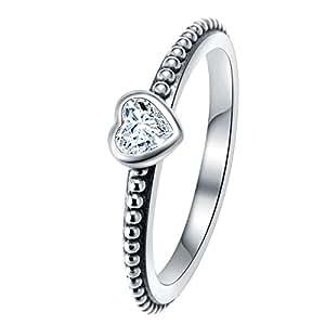 CHANGEABLE Anelli da Donna Argento Sterling 925 Misura anello 12 (sei l'unico)