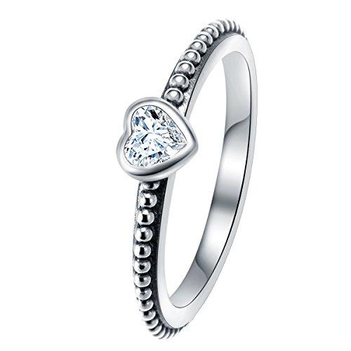 Anelli da donna argento sterling 925 misura anello 16 (sei l'unico) - changeable