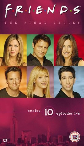 Click for larger image of Friends - Series 10 - Vol. 1 - Episodes 1-4 [VHS] [1995]
