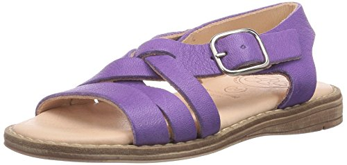 Pololo Nina, Sandales Bout Ouvert Fille Violet (Lilac)