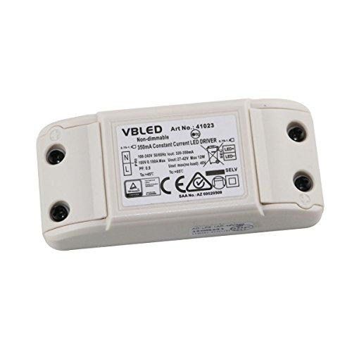 Preisvergleich Produktbild LED Netzteil Trafo Transformator 27-42V 350MA Max 12W