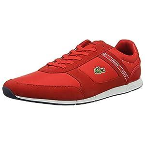 Lacoste Herren Menerva Sport 318 1 Cam Sneaker, Schwarz