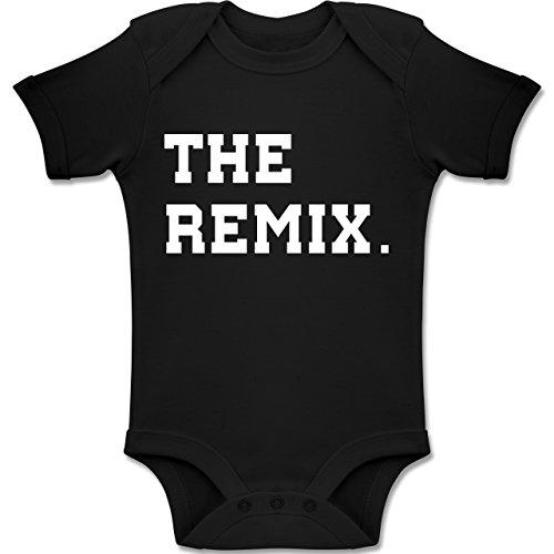 Shirtracer Partner-Look Familie Baby - The Original The Remix Kind - 18-24 Monate - Schwarz - BZ10 - Baby Body Kurzarm Jungen Mädchen