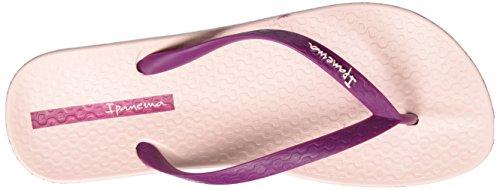 Ipanema Damen Anatomica Soft Zehentrenner Mehrfarbig (pink/bordeaux)