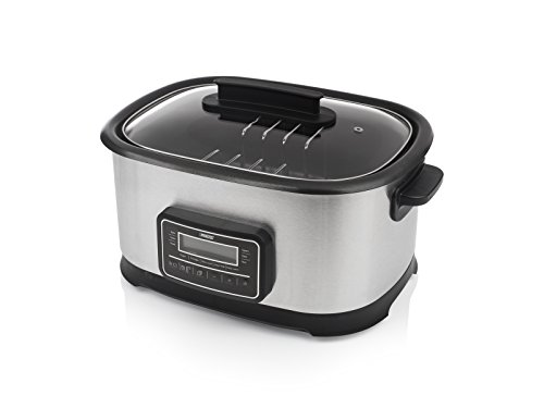 Princess 263000 Sous Vide - Multicooker y cocina lenta, 1500 W, capacidad de 6litros