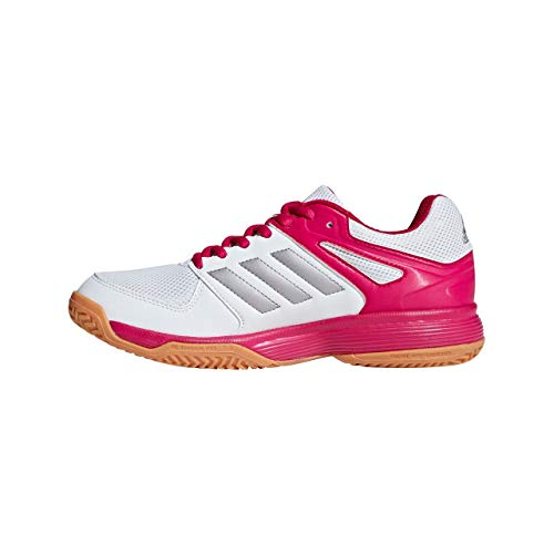 adidas Speedcourt, Scarpe da Pallamano Donna, Bianco Ftwwht/tesime/bopink, 42 2/3 EU