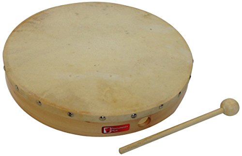 Percussion Plus PP047 12-Inch Wooden Frame Drum