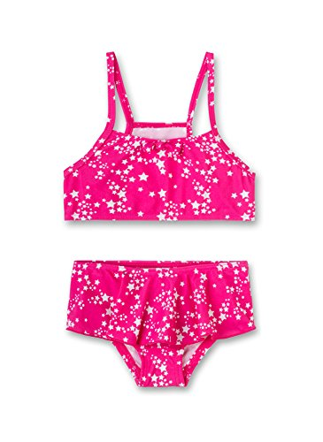 Sanetta Mädchen Bikini Badebekleidungsset, Rosa (Heavy Pink 3875), 140