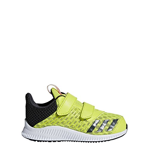 adidas Unisex-Kinder FortaRun Cool CF I Laufschuhe, Gelb (Amarillo/(Ftwbla/Carbon/Ftwbla) 000), 24 EU (Jungen Petit Schuhe)