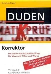 Duden Korrektor: Die Duden-Rechtschreibprüfung für Microsoft Office und Works