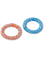 Dental Kings, hair band, hair rubber bracelet for children with happy tooth 48 pieces