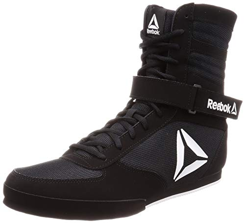 Reebok Boxing Boot Buck, Zapatillas de Artes Marciales para Hombre, Multicolor Black/White 000, 40...