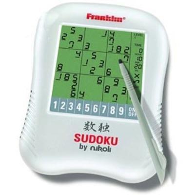 Franklin SDU320 Handheld Sudoku Game by Nikoli